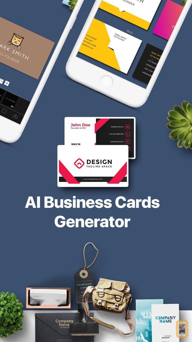 Screenshot - AI Business Card Generator