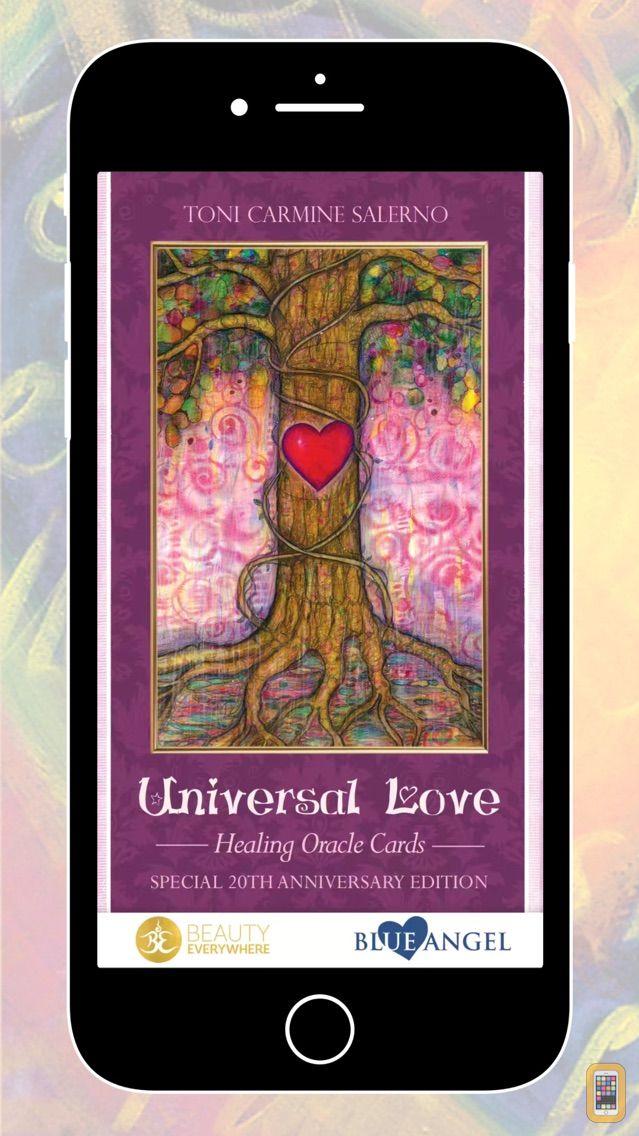 Screenshot - Universal Love Healing Oracle