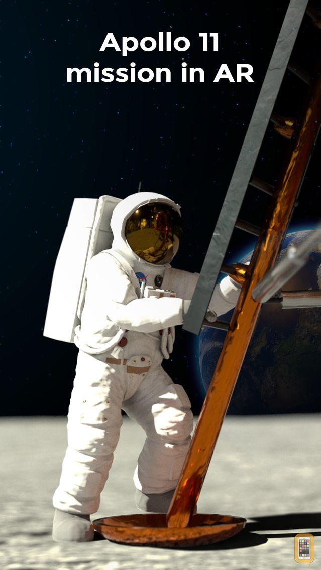 Screenshot - Moon Walk - Apollo 11 Mission
