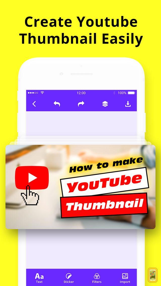 Screenshot - Thumbnail Maker & Channel Art