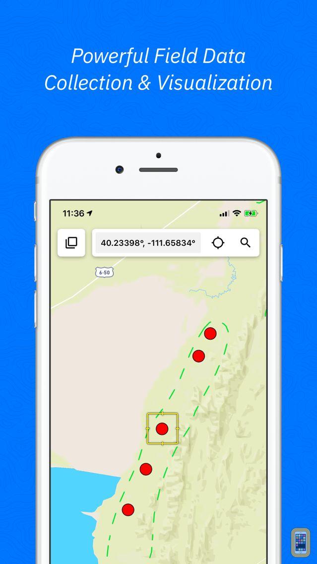 Screenshot - Touch GIS