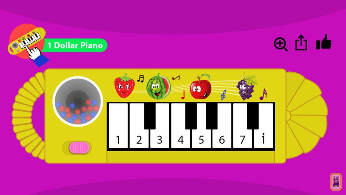 Screenshot - 1 Dollar Piano