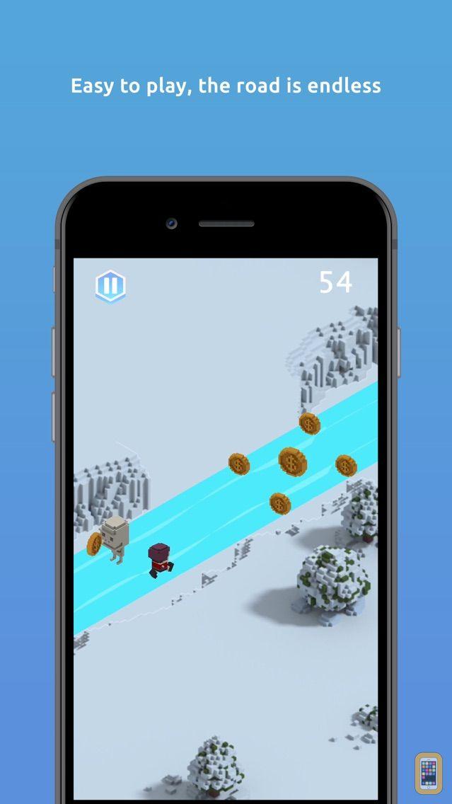 Screenshot - Inuk Arctic 3D running game