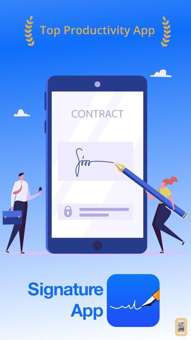 Screenshot - Signature-App
