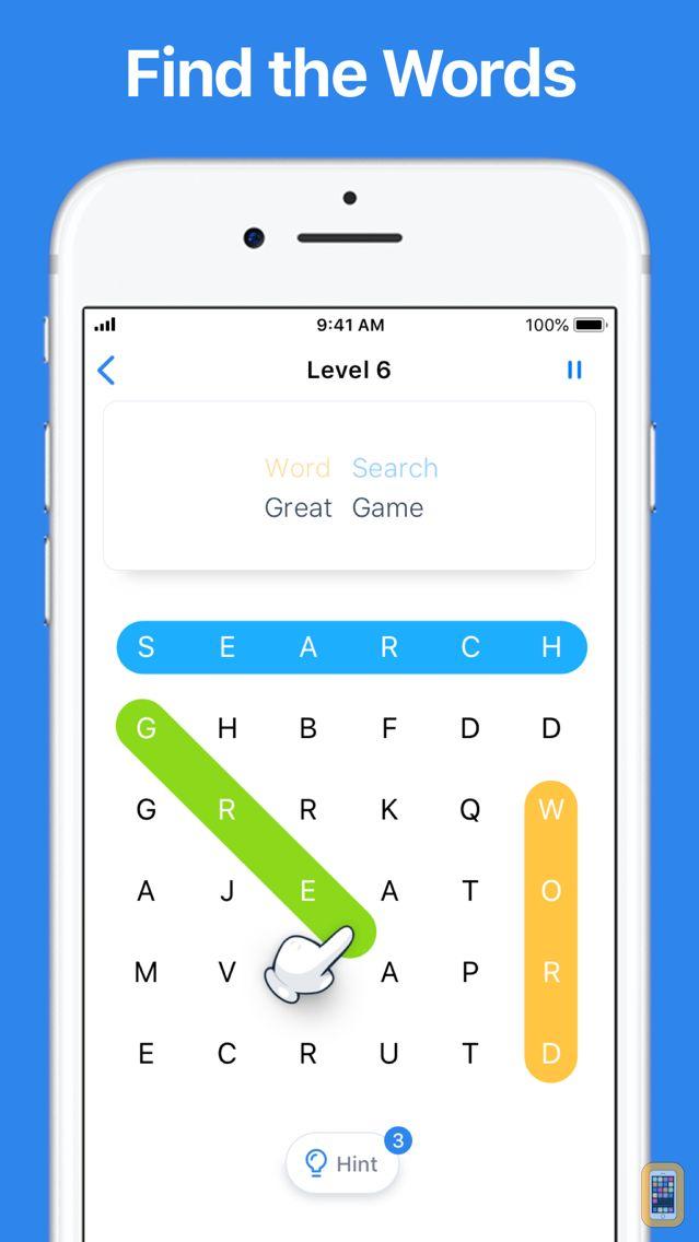 Screenshot - Word Search - Crossword Game