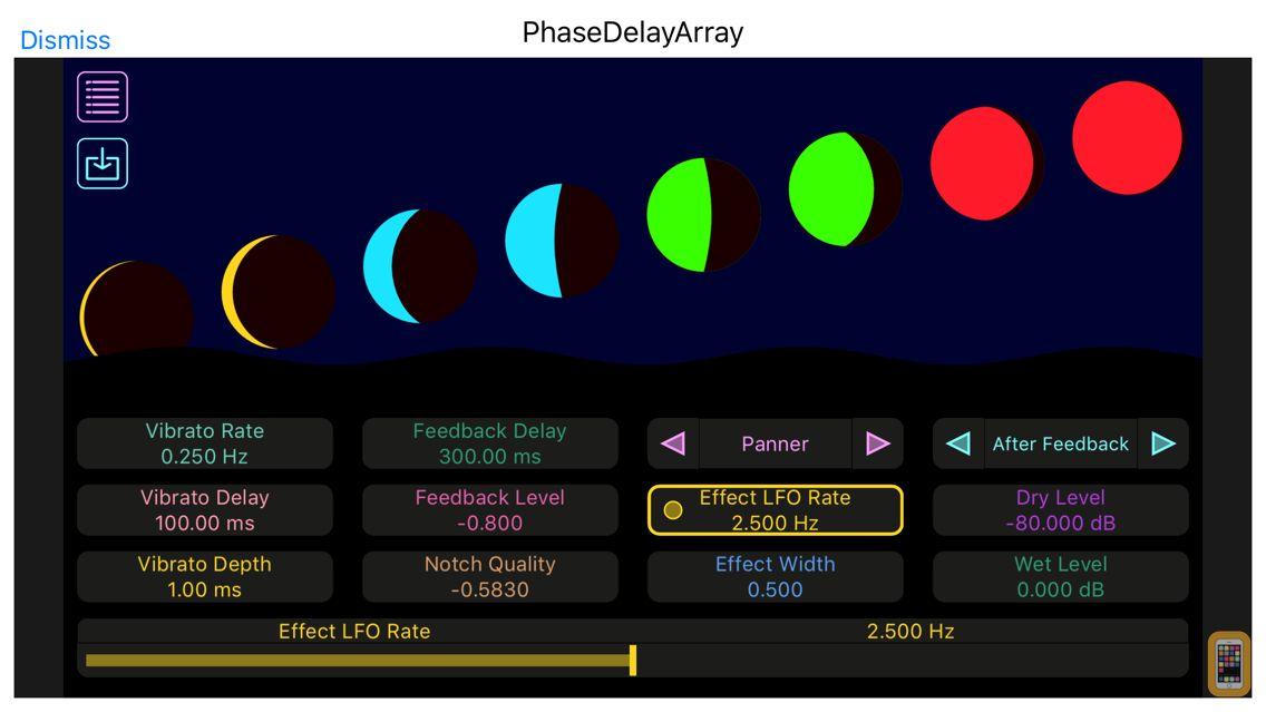 Screenshot - PhaseDelayArray