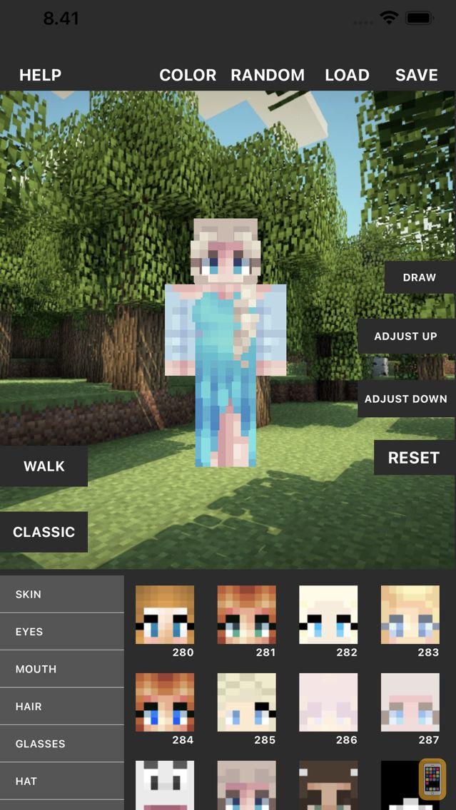 Screenshot - Custom Skin Creator