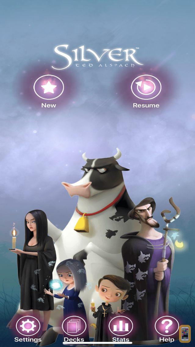 Screenshot - Silver Card Game