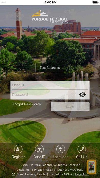Screenshot - Purdue Federal Digital Banking