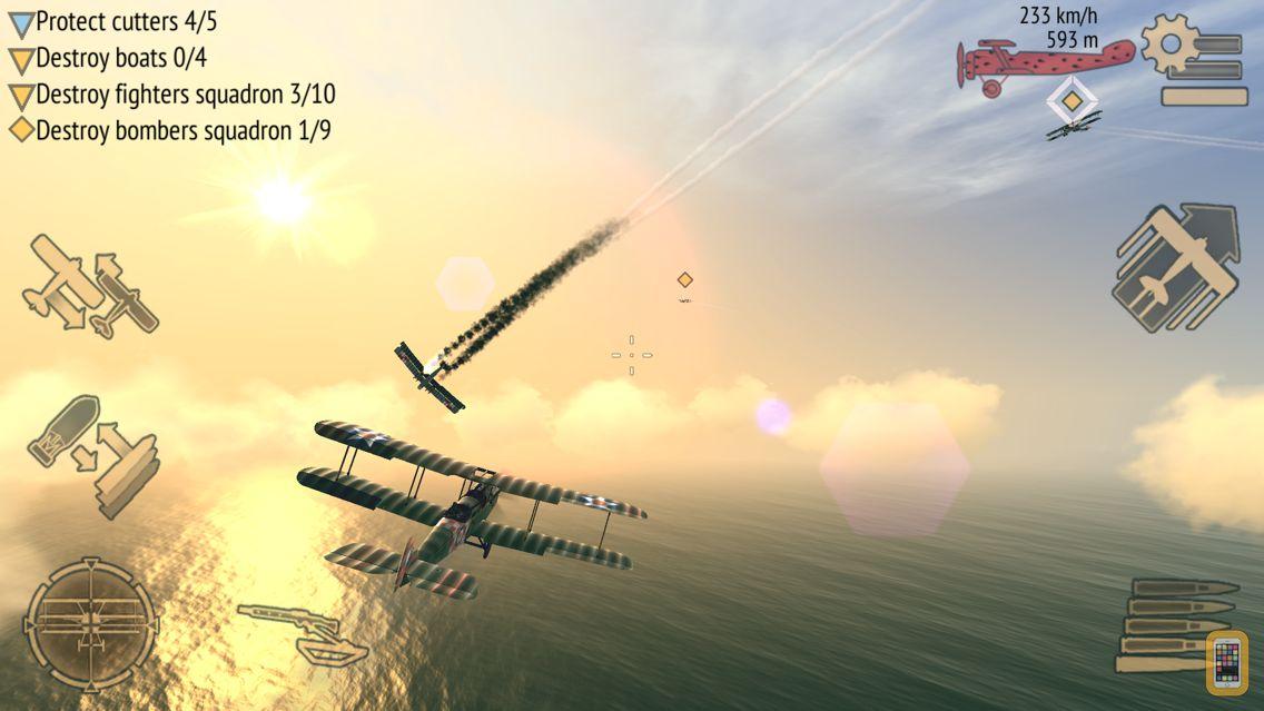 Screenshot - Warplanes: WW1 Sky Aces