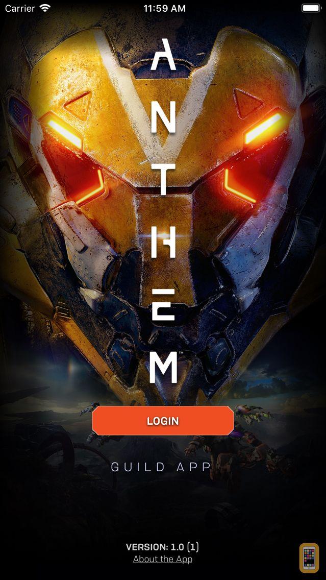 Screenshot - Anthem App