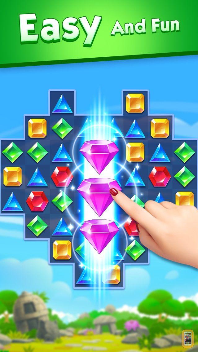 Screenshot - Jewel World - Match 3 Games