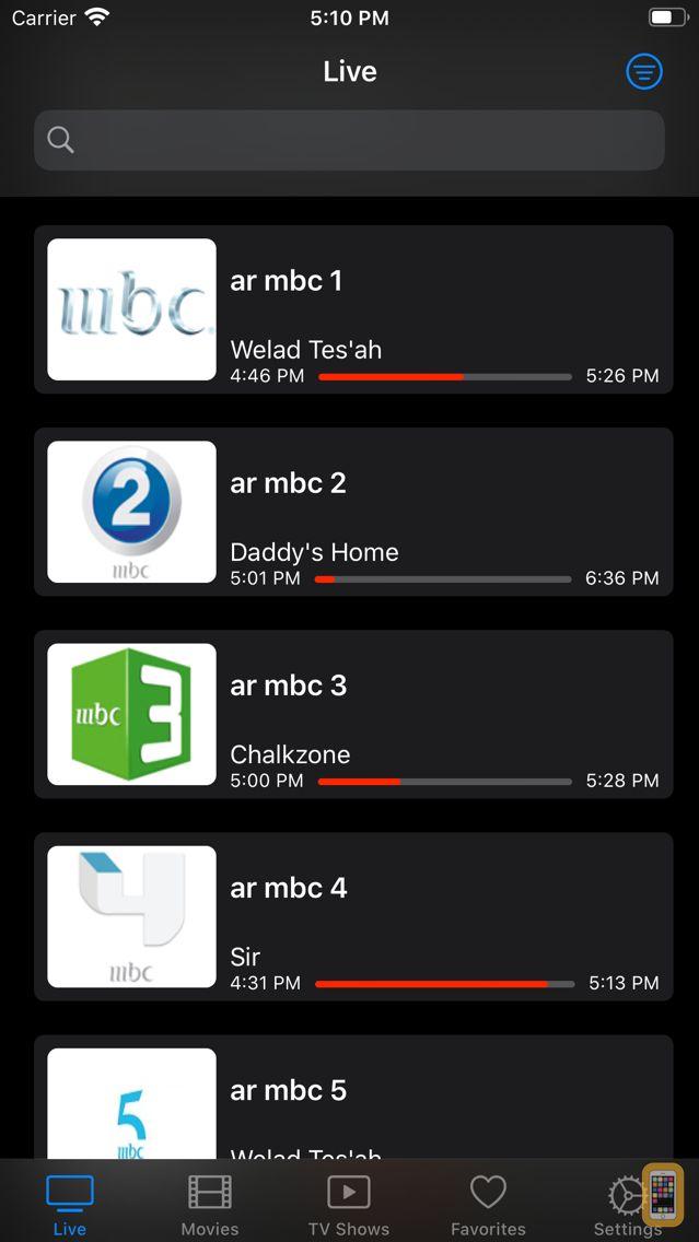 Screenshot - iProTV for iPtv & m3u content