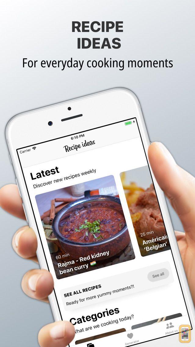 Screenshot - Tasty food recipes cooking app