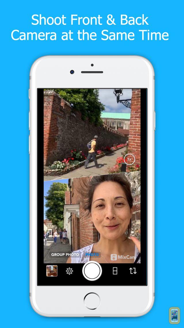 Screenshot - MixCam: Front & Back Camera