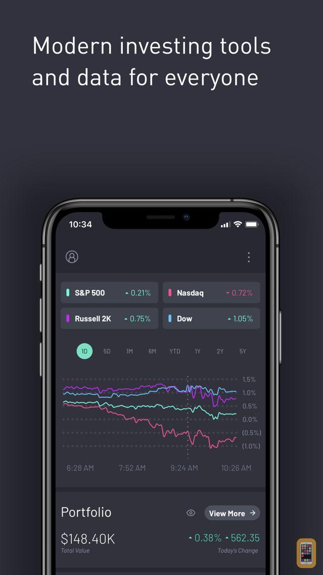 Screenshot - Atom Finance: Invest Smarter