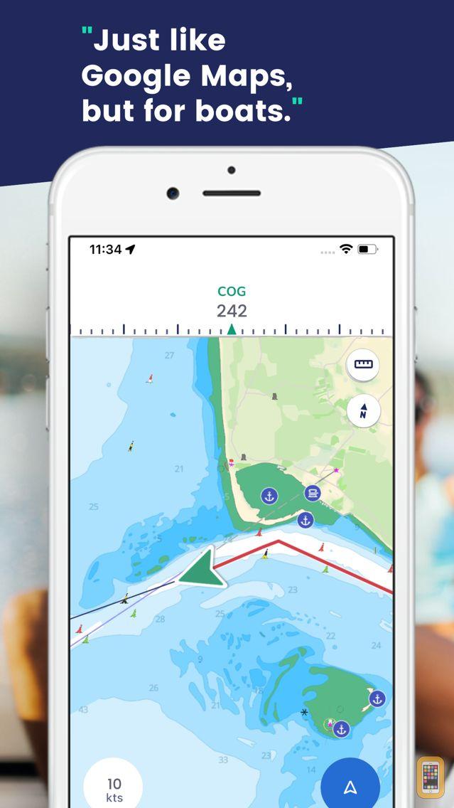 Screenshot - savvy navvy: marine navigation