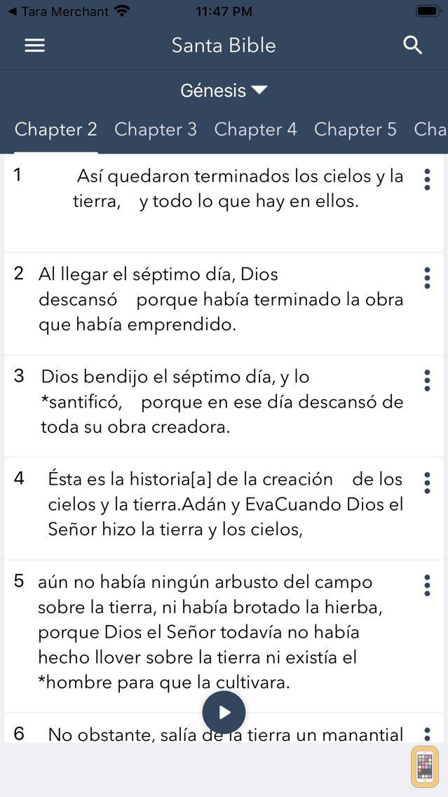 Screenshot - Santa Biblia en Español