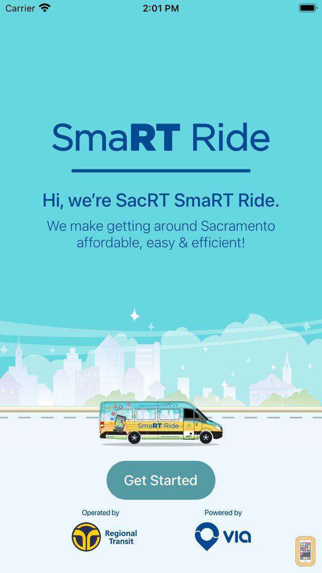 Screenshot - SacRT SmaRT Ride