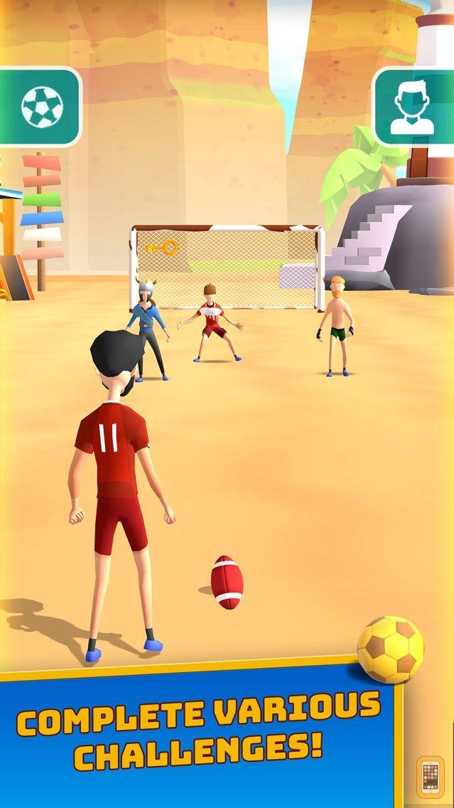 Screenshot - Flick Goal!