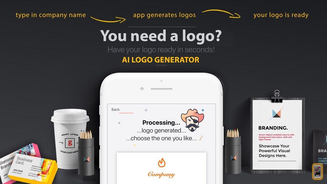 Screenshot - AI Logo Generator - Easy Logo