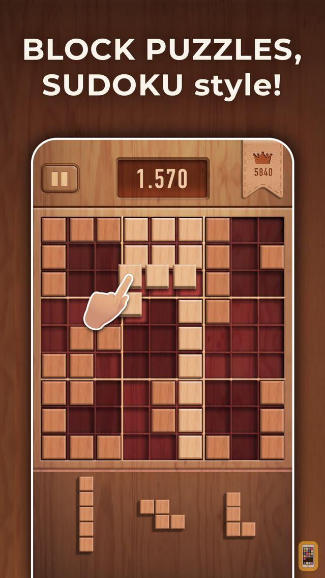 Screenshot - Woody 99 - Sudoku Block Puzzle