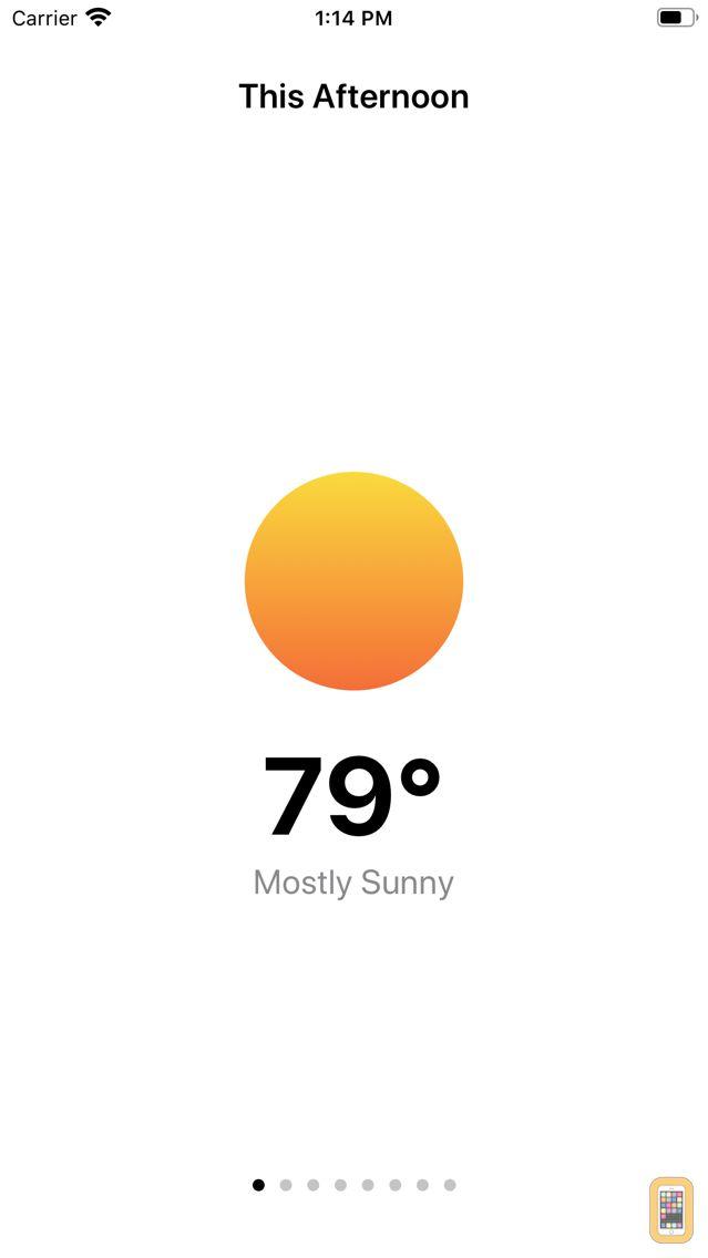 Screenshot - lil weather