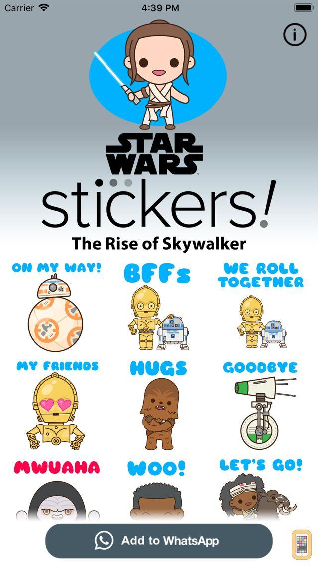 Screenshot - The Rise of Skywalker Stickers
