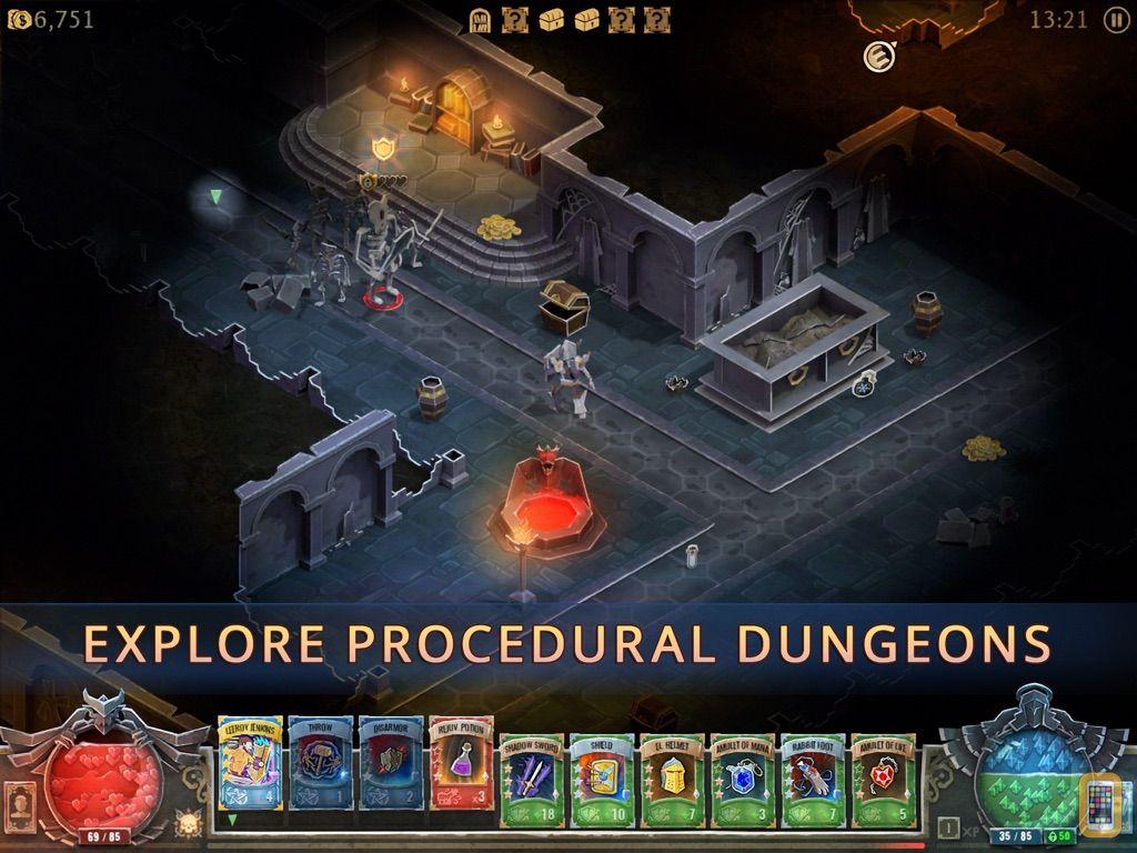 Screenshot - Book of Demons: Tablet Edition