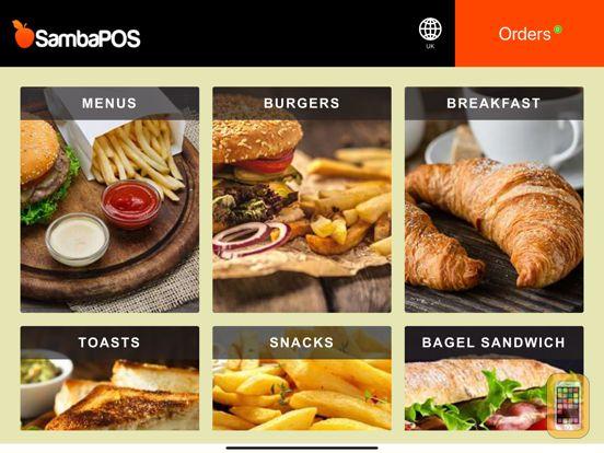 Screenshot - SambaPOS GO Tablet