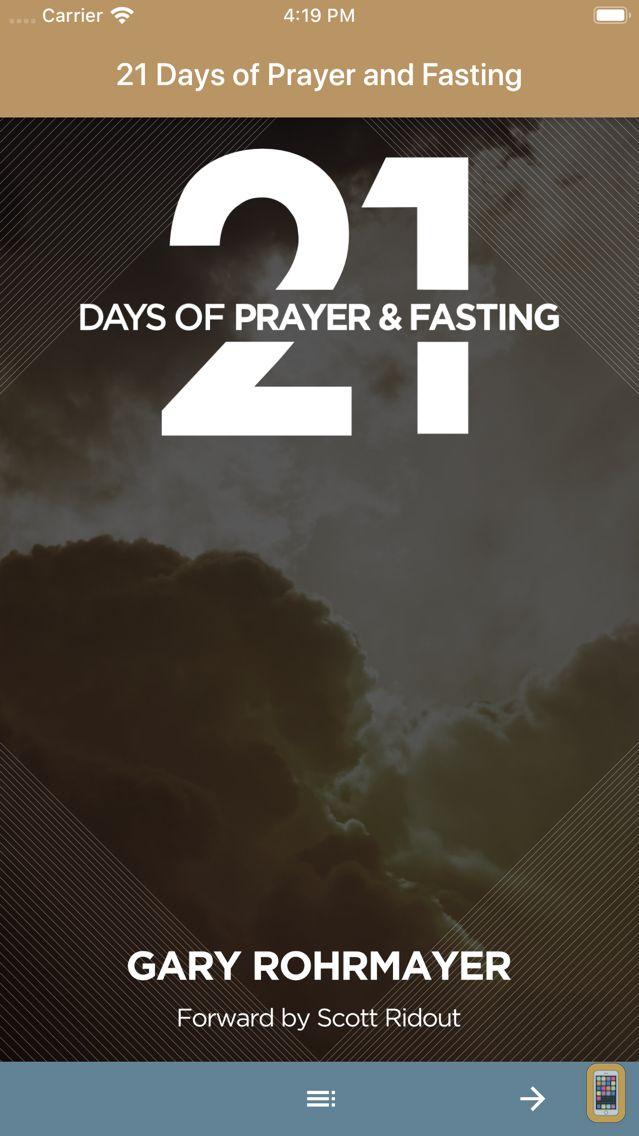 Screenshot - 21 Days of Prayer and Fasting