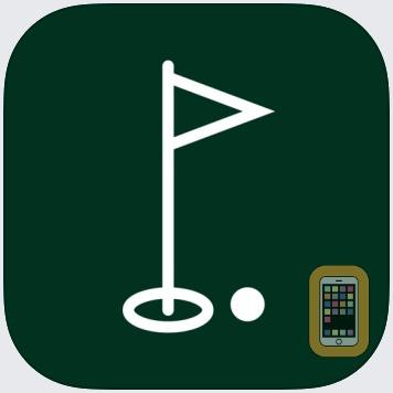 Golf Strokes Scorecard by Brett Kuprel (iPhone)