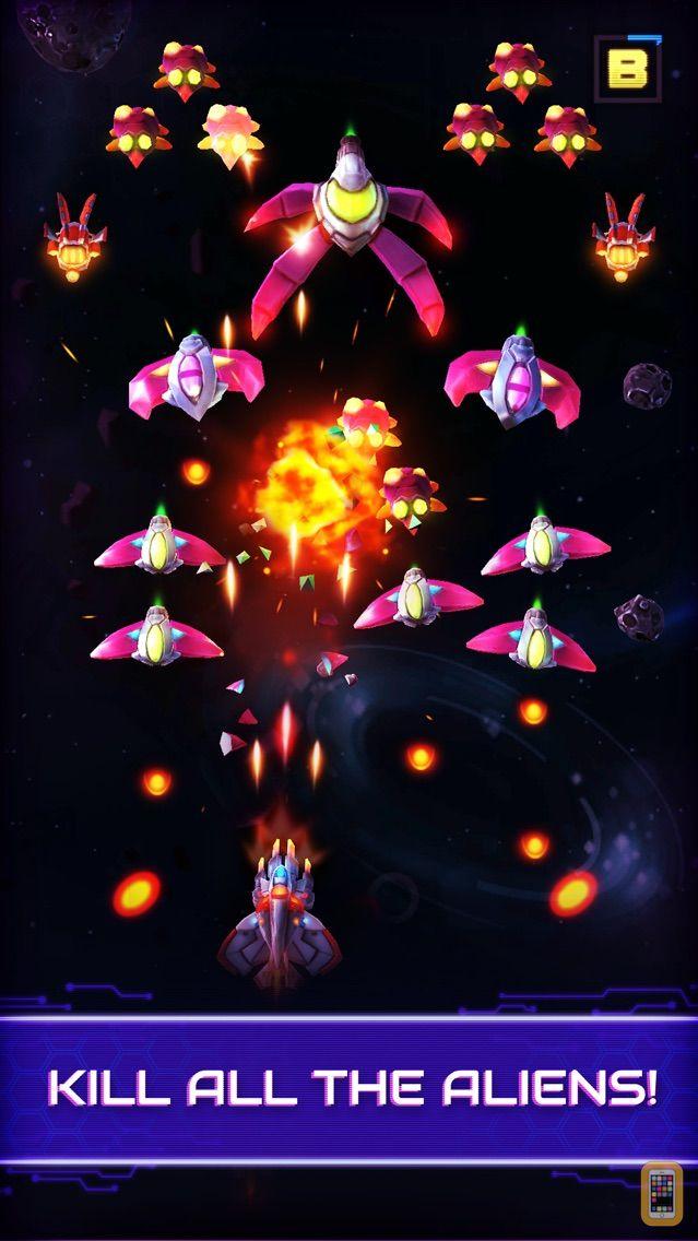 Screenshot - Neonverse Invaders Shoot'Em Up