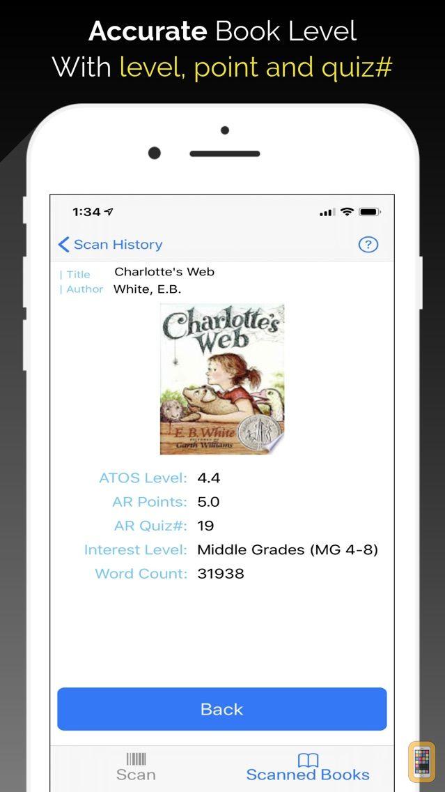 Screenshot - Book Level Checker