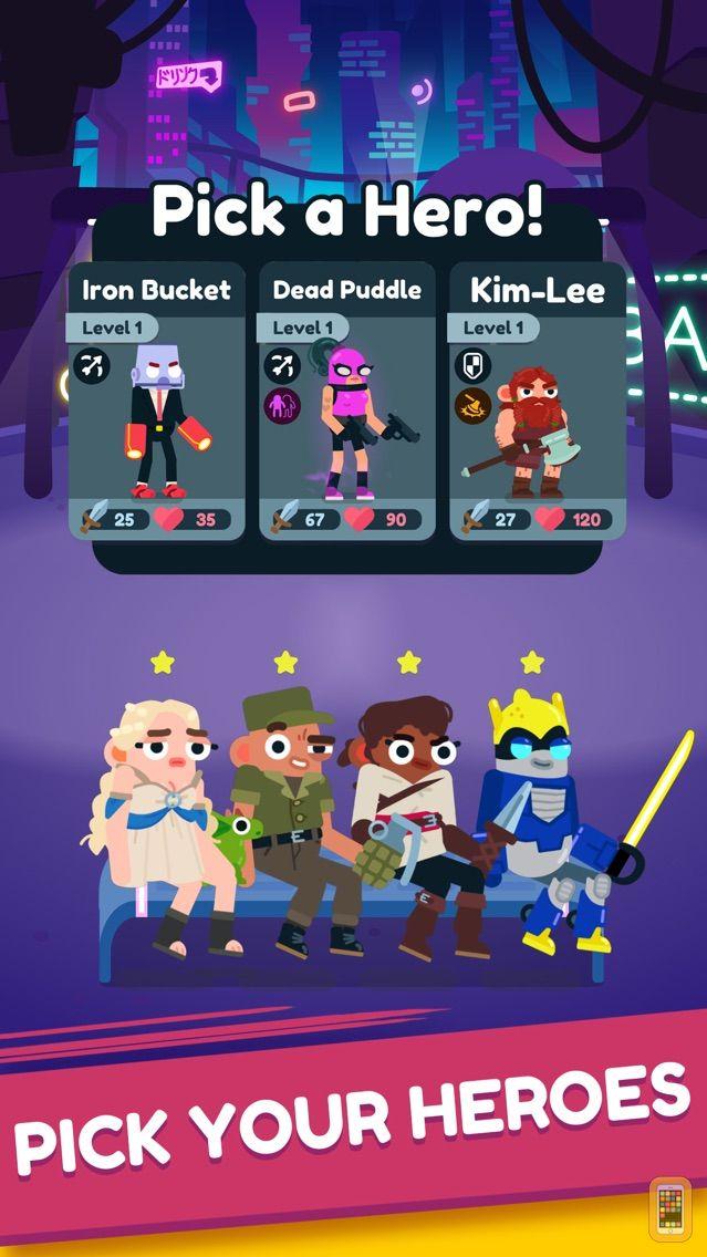 Screenshot - Heroes Battle:Auto-Battler RPG