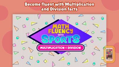 Screenshot - Math Fluency with Sports: x, ÷