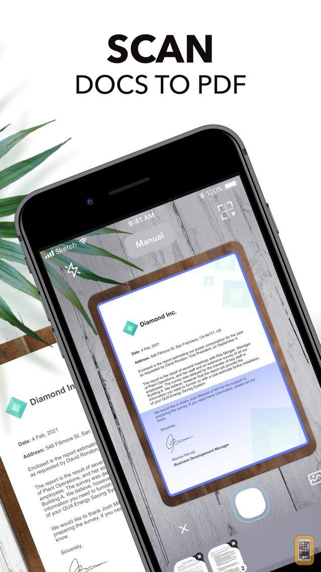 Screenshot - Scanner+ App: Scan Docs to PDF