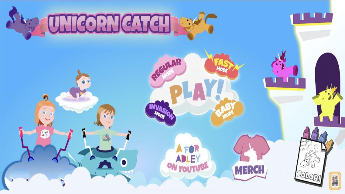 Screenshot - Unicorn Catch