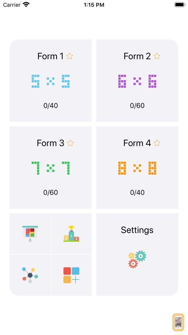 Screenshot - Neon Blocks