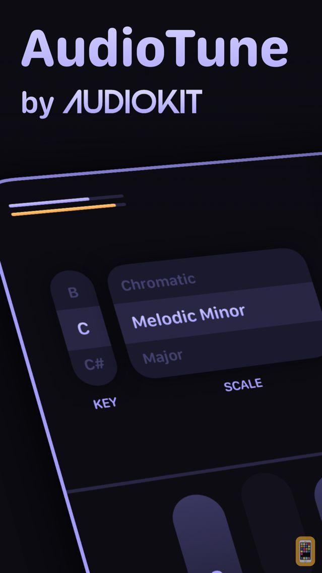 Screenshot - AudioTune Auto Voice Tune AUv3