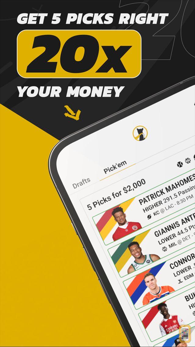 Screenshot - Underdog Fantasy