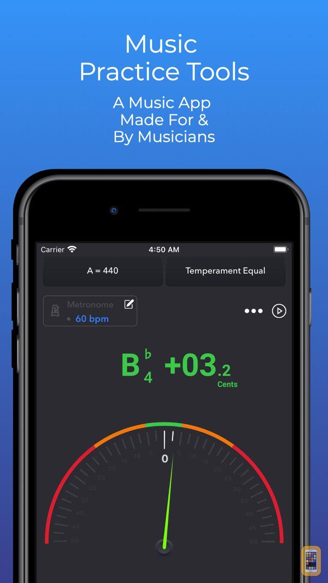Screenshot - Practica - Tuner & Metronome