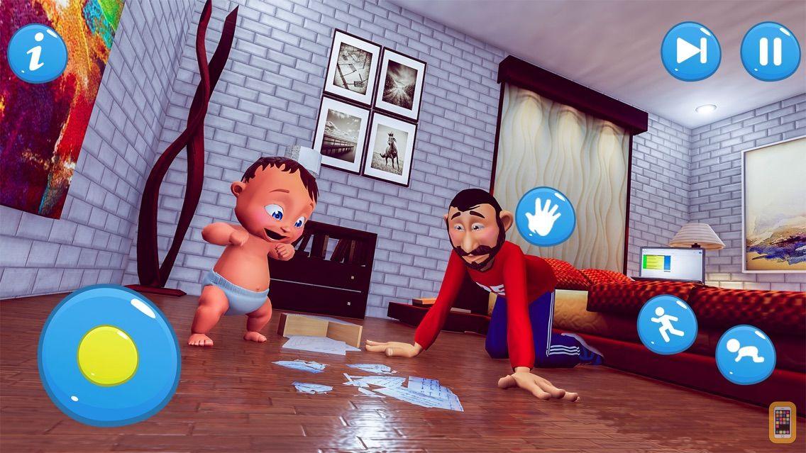 Screenshot - Virtual Baby Dream Family Game