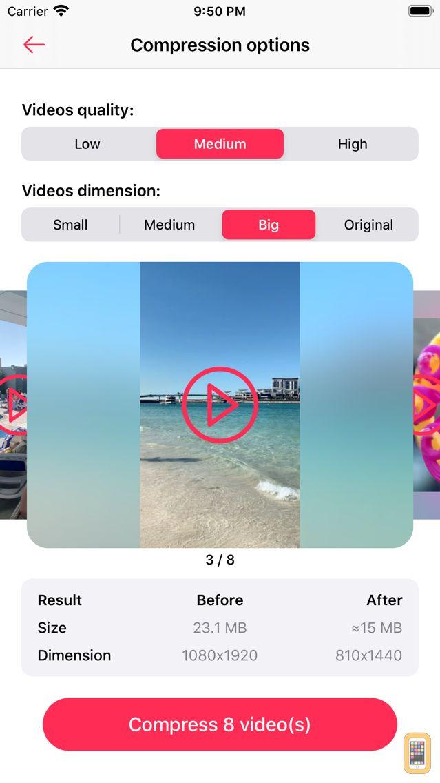 Screenshot - Video Compress, Resize, Shrink