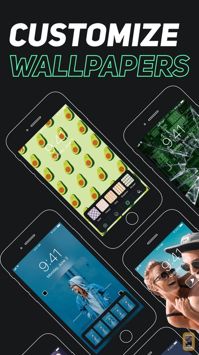 Screenshot - LiveWallp Widget – Themes DIY