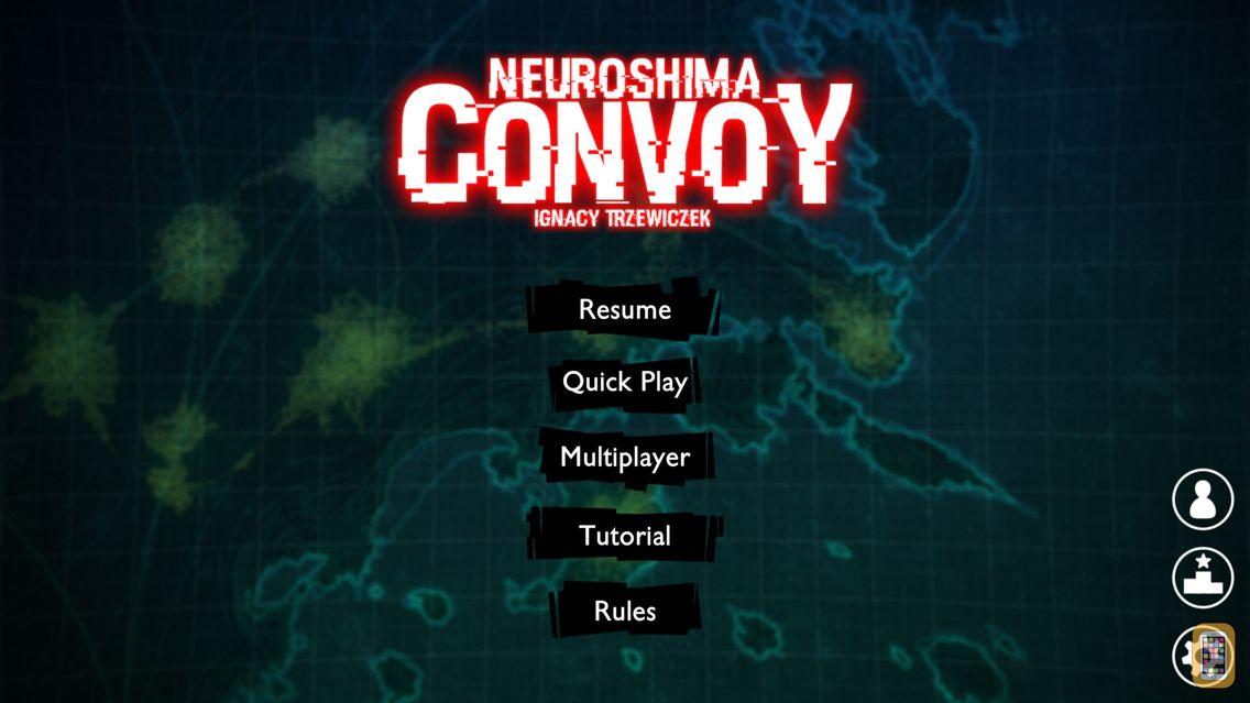 Screenshot - Neuroshima Convoy card game