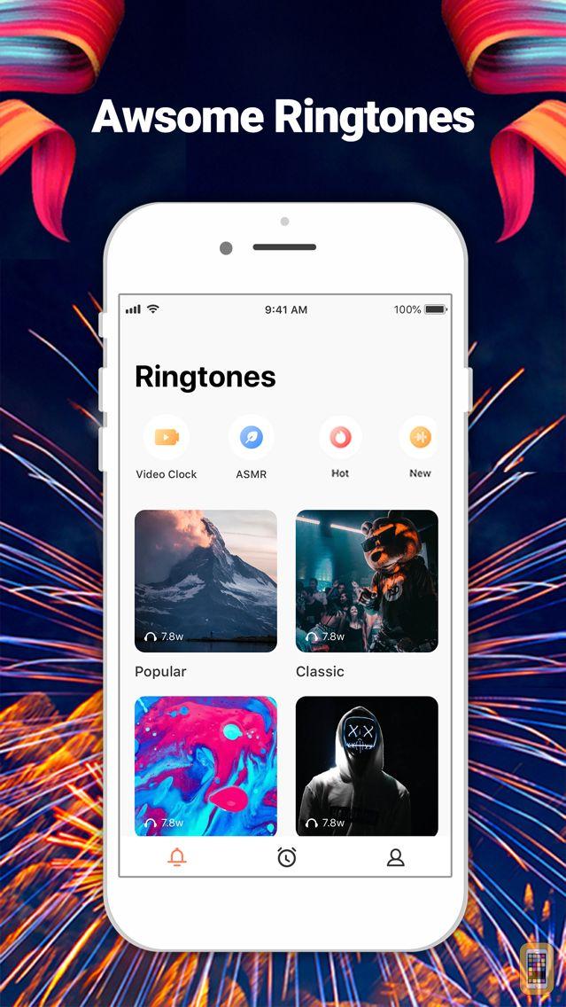 Screenshot - Rinco Ringtones - Alarm Clock