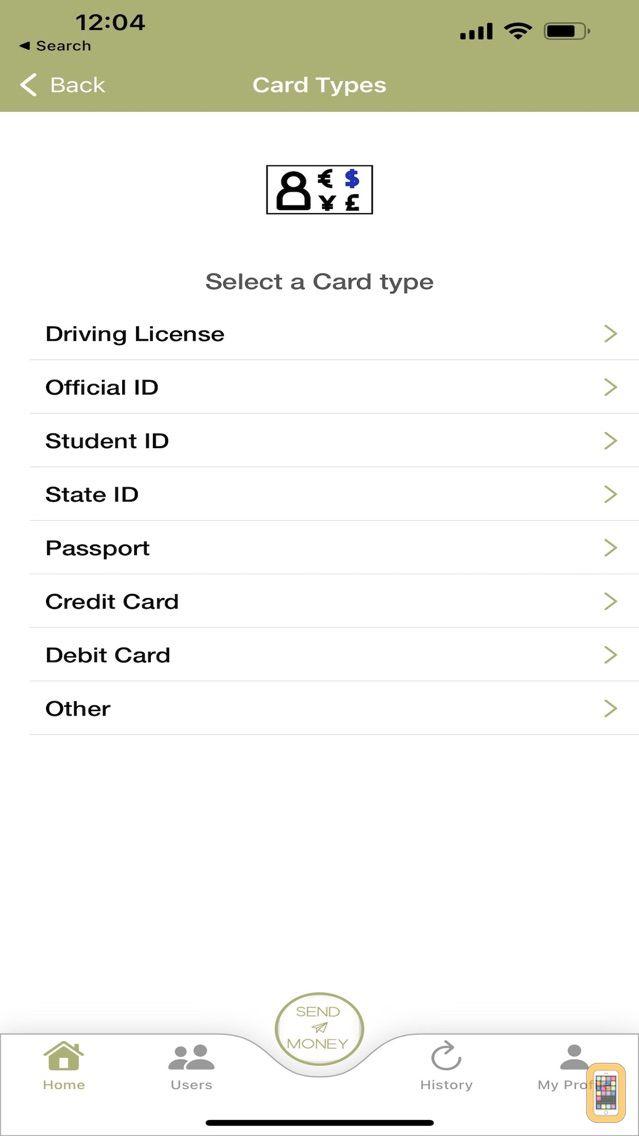 Screenshot - digiID® PAY - Business Wallet