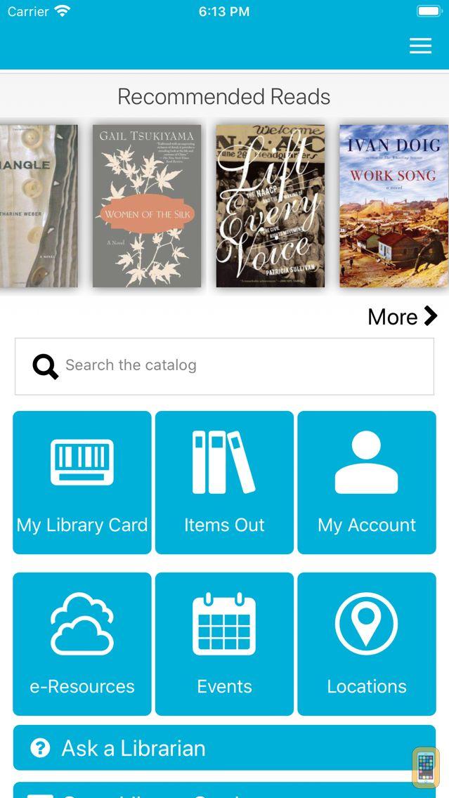 Screenshot - NOLA Public Library