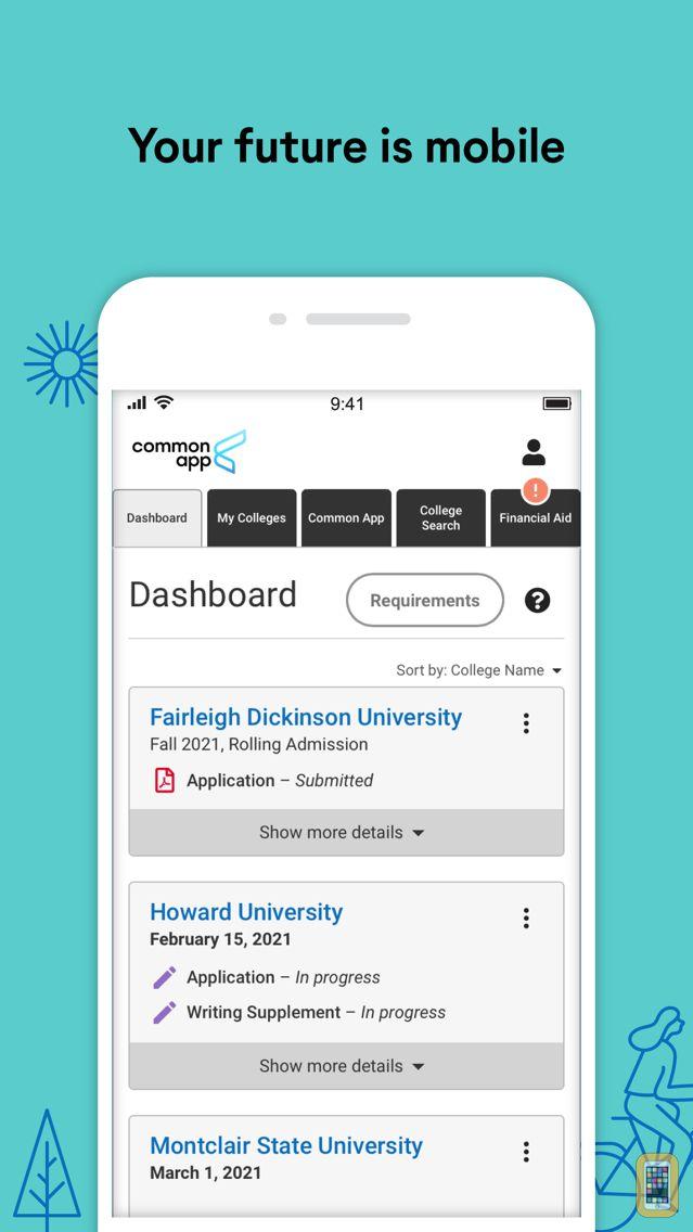 Screenshot - Common App